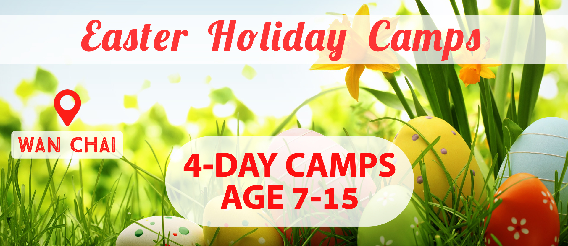 Easter Holiday Camps 2019