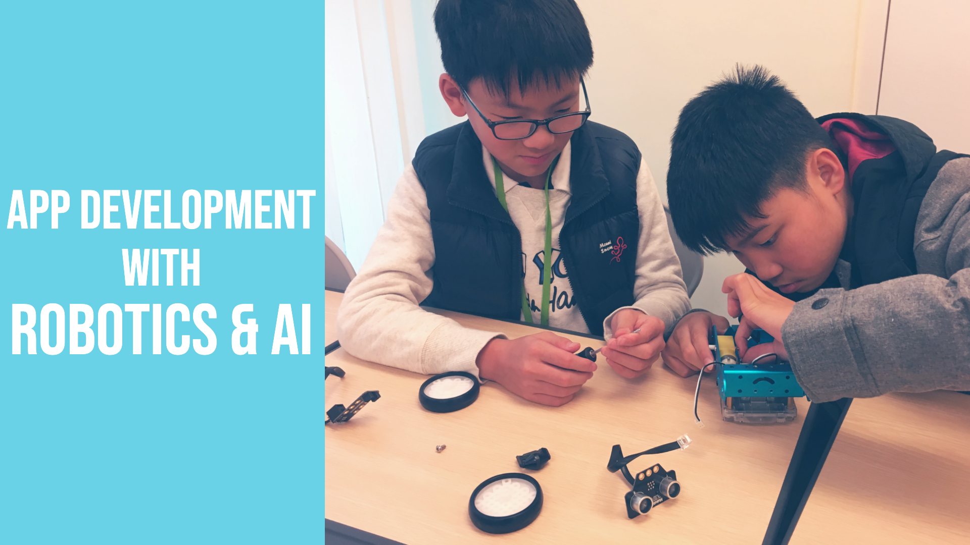 App development: Robotics and AI